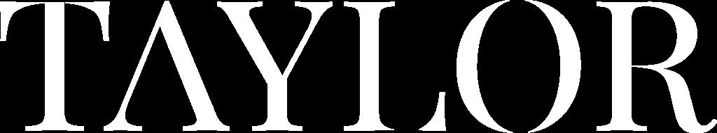 Taylor logo wit